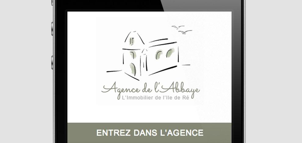 Création du site internet de l'agence, Agence de l'Abbaye - #5