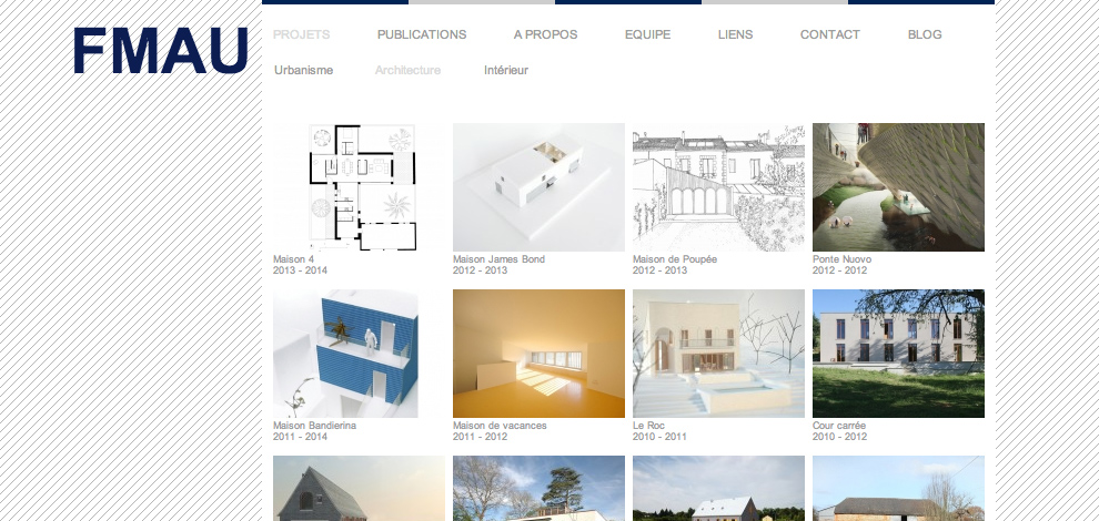 Création du site internet vitrine, FMAU - #2