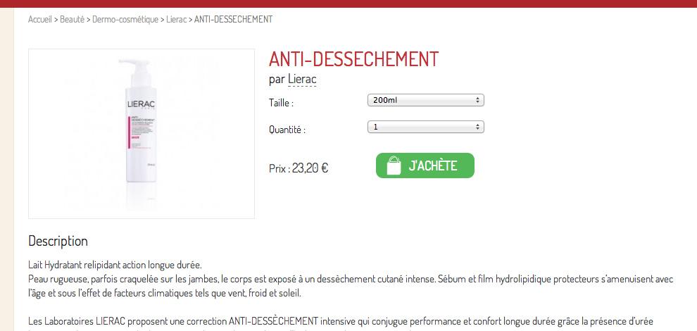 Création d'un site marchand pharmacie-drive, Pharmacie de La Jarne - #2