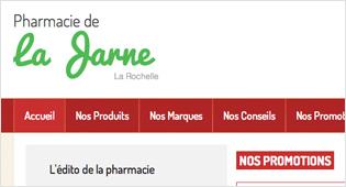 Création d'un site marchand pharmacie-drive